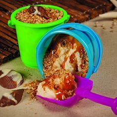Sand Bucket Sundaes - fun idea for the kiddos!