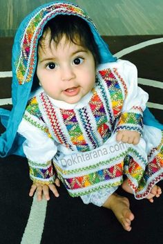 cute little afghan girl afghani dress