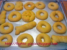 Pastry Cook, Greek Sweets, Easter Recipes, Easter Eggs, Easter Food, Bagel, Doughnut, Biscuits, Deserts