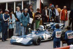 Francois Cevert (France 1972) by F1-history.deviantart.com on @deviantART
