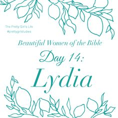 Lydia was willing and available to serve God's people. She was a woman of wealth, and did not hesitate to give a home to Paul and his companions. Lydia was a successful business woman and yet had time to seek and worship God. Her profession yielded her great gain and fame, but it was her conversion to Christianity that singled her out among many other women as she became the first convert in Europe.