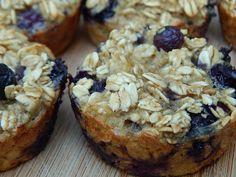Banana blueberry oatmeal breakfast muffins – Drizzle Me Skinny!