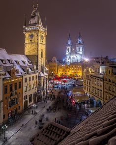 Old Town Square in Prague by Mike Clegg on 500px