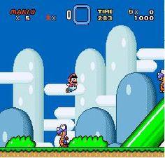 Super Mario World        1989 By: Nintendo