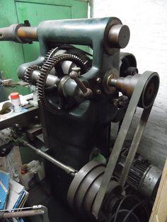Powerfeed setup of my old German horizontal mill