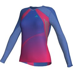 adidas Damen-Laufshirt