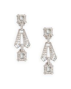 (matching earrings for my necklace) Gatsby Earrings - JewelMint