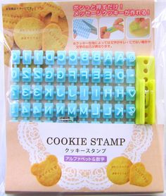 Cute Bento Accessories Deco Cookie Food Stamp Alphabet And Numbers