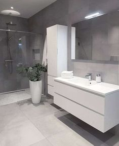 Grey bathrooms designs - 32 best bathroom designs images of beautiful bathroom remodel ideas to try 20 Beautiful Bathrooms, Bathroom Renovations, Grey Bathrooms Designs, House Bathroom, Bathroom Designs Images, Interior, Best Bathroom Designs, Bathroom Decor, Modern Bathroom Design