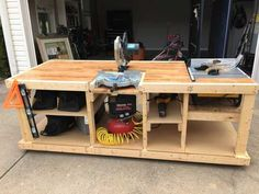 Workbench Plans for Garage . Workbench Plans for Garage . Different Kind Of Easy Diy Workbench Woodworking Business Ideas, Woodworking Shows, Woodworking Bench Plans, Woodworking Workshop, Popular Woodworking, Teds Woodworking, Woodworking Quotes, Youtube Woodworking, Woodworking Machinery
