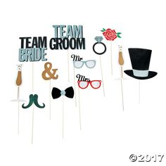Everyone loves silly wedding photos and who wouldn't love our wedding photo props for your photo booth or selfie station? Shop our wedding props now, link in the bio. Wedding Photo Booth Props, Diy Photo Booth, Photo Booths, Team Groom, Team Bride, Wedding Reception, Our Wedding, Wedding Ideas, Wedding Planning