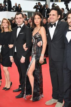 Pin for Later: The Very Best Style Moments From Last Year's Cannes Red Carpet Adèle Exarchopoulos Adèle Exarchopoulos wore a sexy slitted Louis Vuitton number, complete with a zipper, for the premiere of Irrational Man.