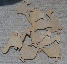 10 Ducks and Geese Craft Pieces, Natural Unpainted Wood Shapes for Crafting, Thin Duck and Goose Cut Outs for crafting and decorating.  More available in  my shop.