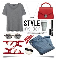 """""""Our First-Ever Contest JUST for Style Insiders!"""" by alaria ❤ liked on Polyvore featuring MANGO, Illesteva, Fitz and Floyd, NARS Cosmetics, contestentry and styleinsider"""