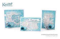 2H2004c Elegant Hearts Cards