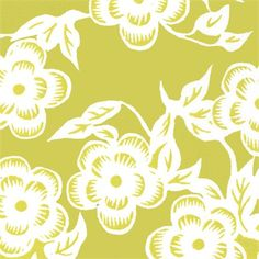 Fitted Crib Sheet - Green Floral