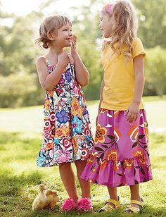 what to wear summer portrait - girls