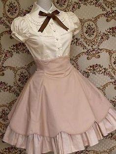 sweet loveable lolita dress designs novel~fresh perfect Source by dresses design Kawaii Fashion, Cute Fashion, Vintage Fashion, Gothic Lolita Fashion, Rock Fashion, Pretty Dresses, Beautiful Dresses, Mode Lolita, Lolita Style