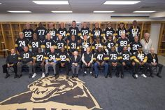 Check out these legends! It was Alumni Weekend for the Anniversary of the 1974 Super Bowl Champions! New England Patriots Football, Steelers Football, Sport Football, Football Players, Panther Nation, Pittsburgh Sports, Football Is Life, Steeler Nation, Win Or Lose