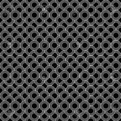 Seamless Circles Pattern Black And White - Customizable Color.. Royalty Free Cliparts, Vectors, And Stock Illustration. Image 19884442.
