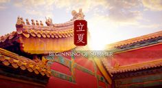 """Start of Summer"": around May 5th of the solar calendar, indicating the beginning of summer. #Beijing #China"