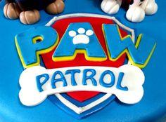 Tarta Paw Patrol 2  De Perla's   Tartas fondant personalizadas en Málaga