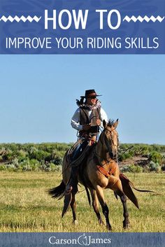 Improving your riding skills means improving 3 key components which are feeling, timing and balance. Here's a short video that will help you understand how to do that.