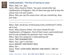 Albus and Harry