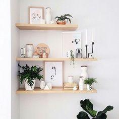 41 façons simples de décorer un mur blanc
