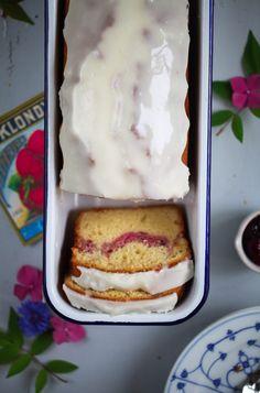 Marmeladen Swirl Kastenkuchen Rezept einfacher Sommerkuchen Backrezept jam loaf cake