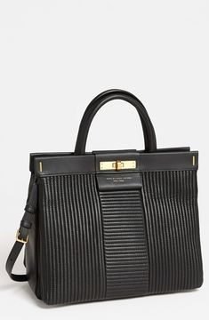 shopstyle.com: MARC by Marc Jacobs 'East End - Madame Hilli' Quilted Satchel Black