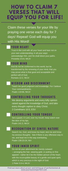 How To Claim 7 Verses That Will Equip You For Life