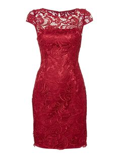 Image result for adrianna papell guipure lace dress