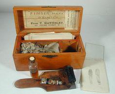 Sir Francis Galton's Portable Fingerprint Kit