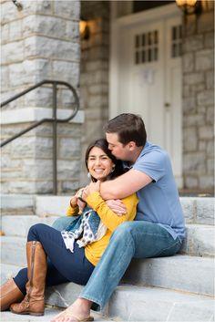 Harrisonburg, Virginia JMU Fall Engagement Shoot | Anna Grace Photography