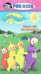 Teletubbies Dance With The Teletubbies VHS Movie Tape