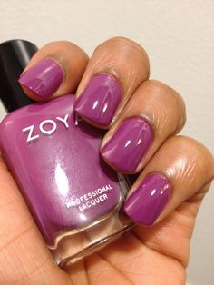 I love love shades of purple...Polish Obsession: Zoya - Kieko