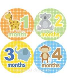 Monthly Stickers