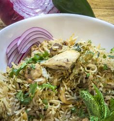 Instant Pot Indian Chicken biryani is a one-pot biryani in your pressure cooker that tastes so authentic, you won't believe you made this in one step!