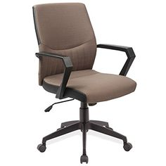 Leick 10112BR TwoTone Over Jet Black Base Office Arm Chair Brown -- Check out the image by visiting the link.Note:It is affiliate link to Amazon.
