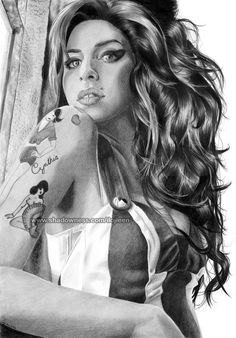 Amy Winehouse por Ilojleen