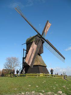 Polder mill Weel & Braken, Obdam, the Netherlands.