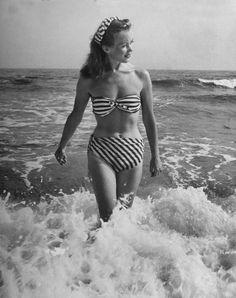 French actress Barbara Laage. LIFE. Sept. 2, 1946. by Nina Leen
