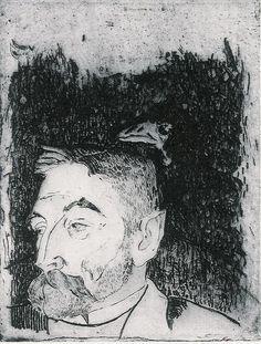 Paul Gauguin, Stephane Mallarme, 1891
