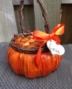 Personalized Flower Girl Basket Fall by WeddingFavorsandMore, $29.99
