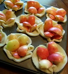Incredibly Cute Crab Apple Tartlets | Seasonal & Savory