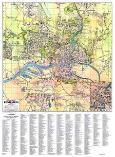 Map of Koenigsberg (Калининград) 1939. Кликните по превью. Когда загрузится полноценное представление выбранного изображения, кликните по нему еще раз. В новом окне загрузится полноразмерное изображение, которое можно сохранить на HD или иной носитель. Historical Maps, Family Genealogy, Prussia, Socialism, City Photo, Vintage World Maps, Funny Pictures, Germany, Photography