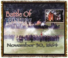Battle Of Franklin Tapestry