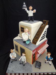 A slice of TLC'S CAKE BOSS