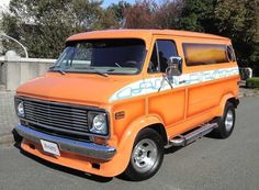 Custom 70's Chevy van..vk
